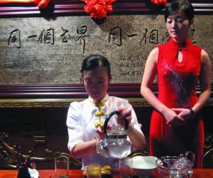 茶艺文化:福鼎白茶与女人